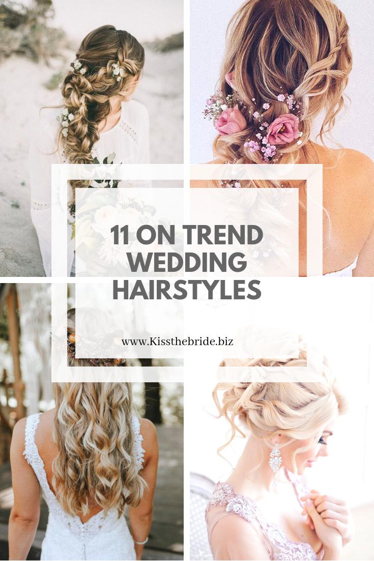 11 Unique Bridal Hairstyles And Ideas Kiss The Bride Magazine In 2020 Classic Wedding Hair Bridal Hair Short Wedding Hair