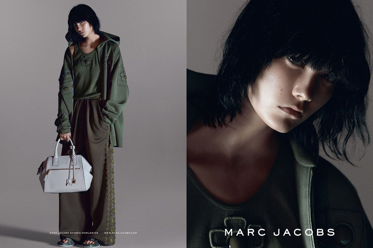 Karlie Kloss by David Sims for the Marc Jacobs S/S 2015 Campaign
