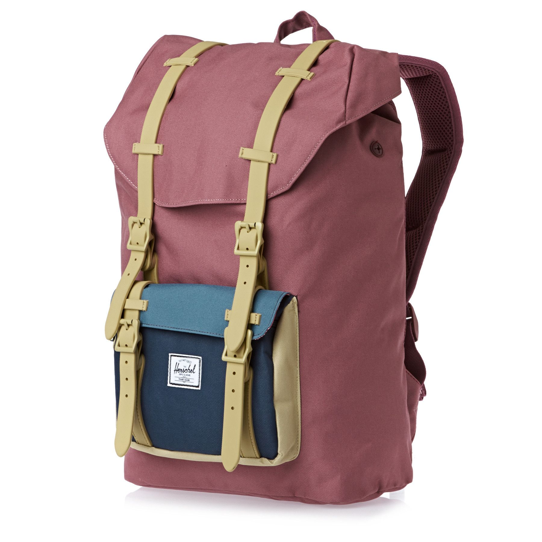 Search Results for Women s Herschel Little America Mid volume Backpack  Dusty Blush navy khaki Rubber on Shop And Ship Worldwide