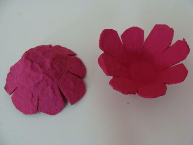 Como Fazer Flor De Caixa De Ovo Passo A Passo Como Fazer Flores