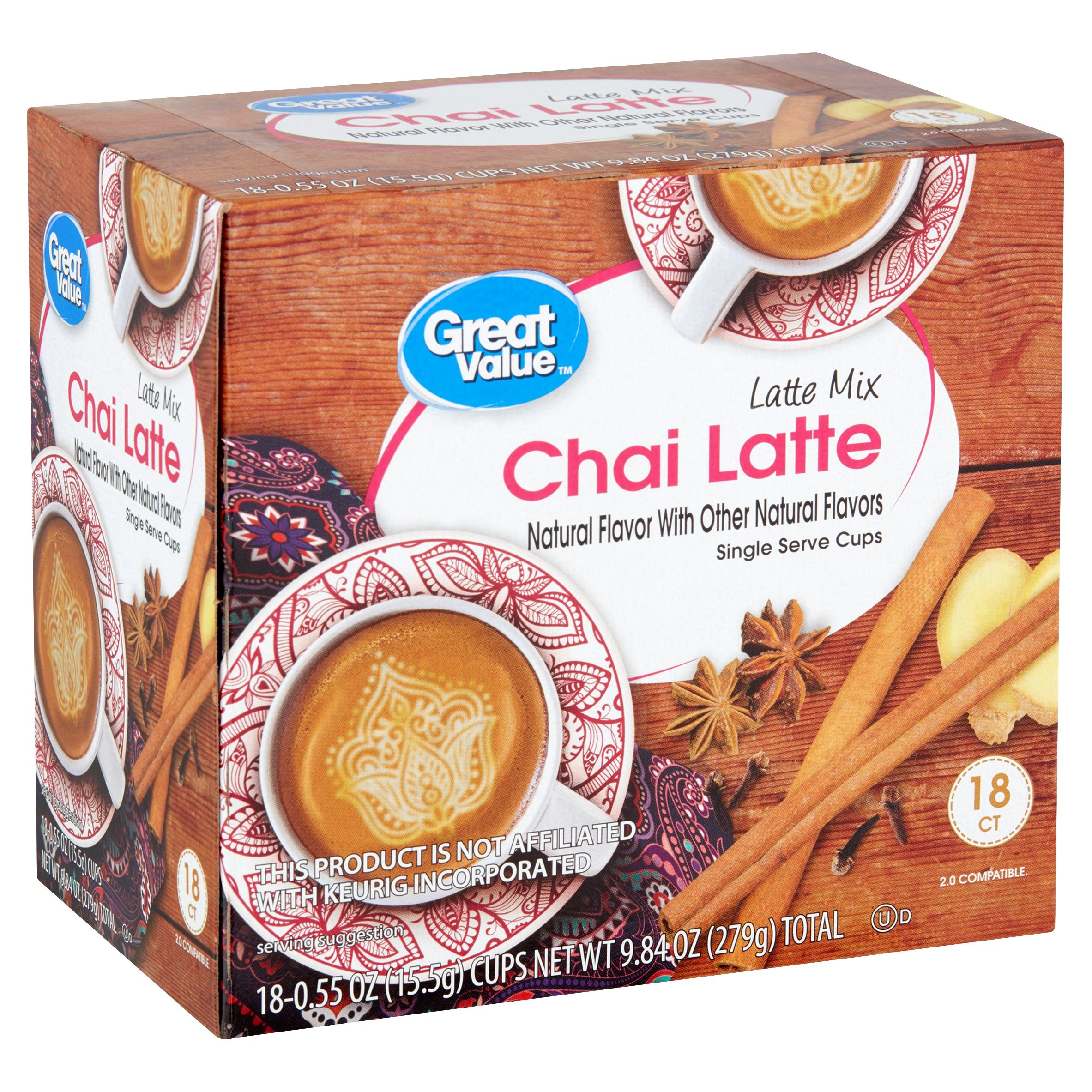 Great Value Chai Latte Mix 0 55 Oz 18 Count Walmart Com Chai Latte Mix Chai Latte Latte Encuentra las mejores ofertas de zanahoria rallada en getafe y los cupones y promociones de tus tiendas favoritas. great value chai latte mix 0 55 oz 18