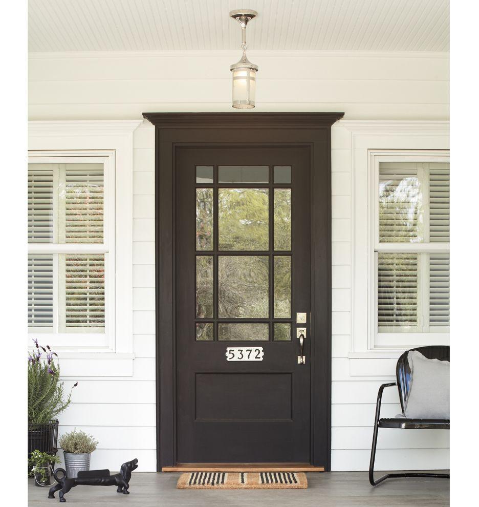 Rejuvenation Painted Front Doors