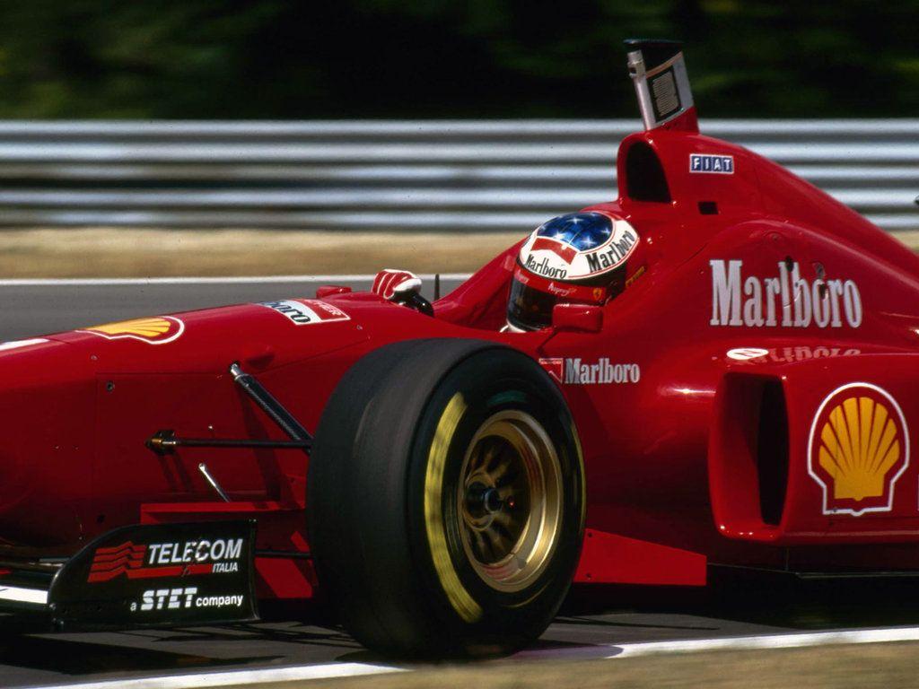Michael Schumacher 1996 F 1 Team Ferrari Scuderia