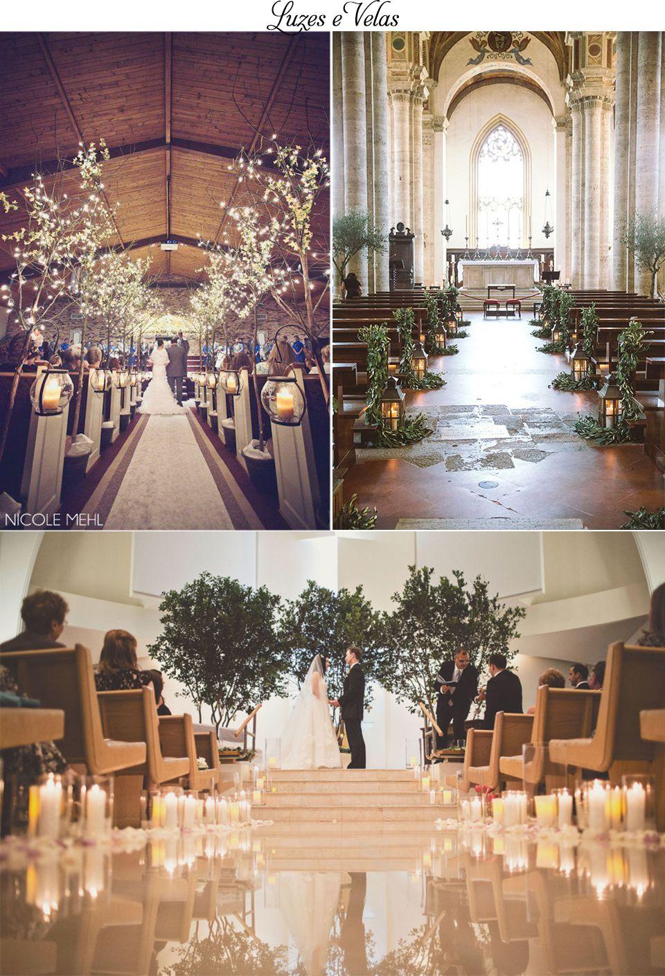 Ideias para decorar um casamento em igreja                                                                                                                                                                                 Mais