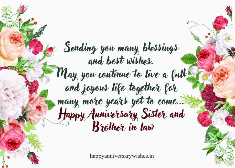 1st anniversary wishes for sister anniversary quotes for