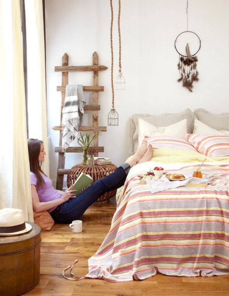 24 Fabulous Bohemian Furniture Ideas Matchness Com In 2021 Eclectic Bedroom Bedroom Design Bohemian Style Interior Design