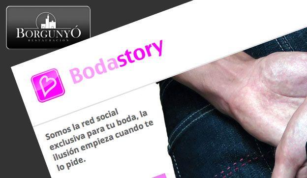 Borgunyó habla de Bodastory, la red social de bodas