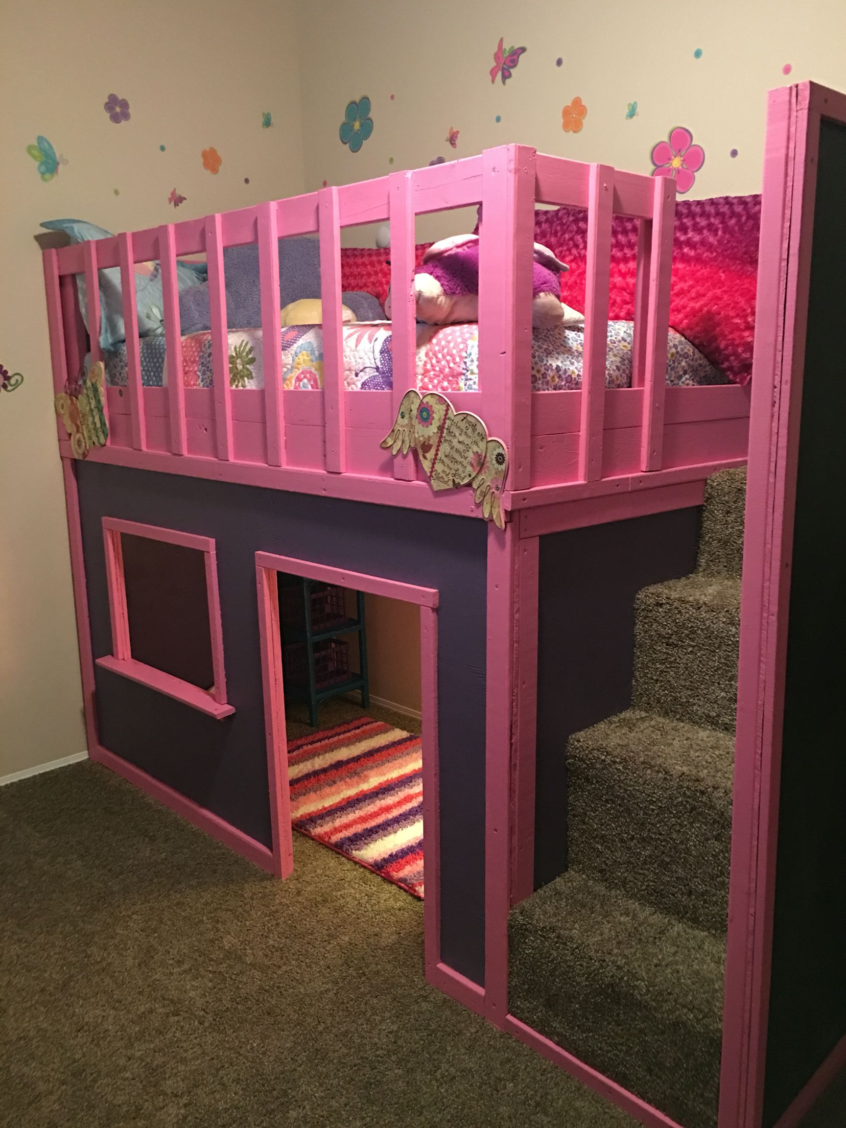 Braun Castle Bunk Bed Kids bedroom designs, Princess