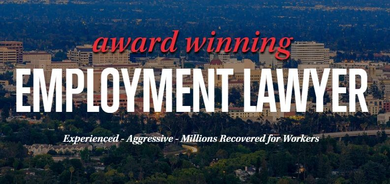 Are you looking for an employment lawyer in San Bernardino
