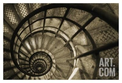 Best Spiral Staircase In Arc De Triomphe Art Print By Christian 400 x 300