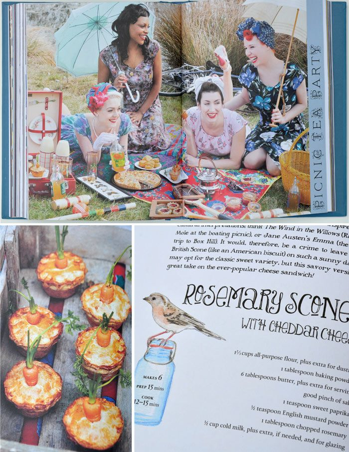 A Picnic To Remember The Vintage Tea Party Year By Angel Adoree
