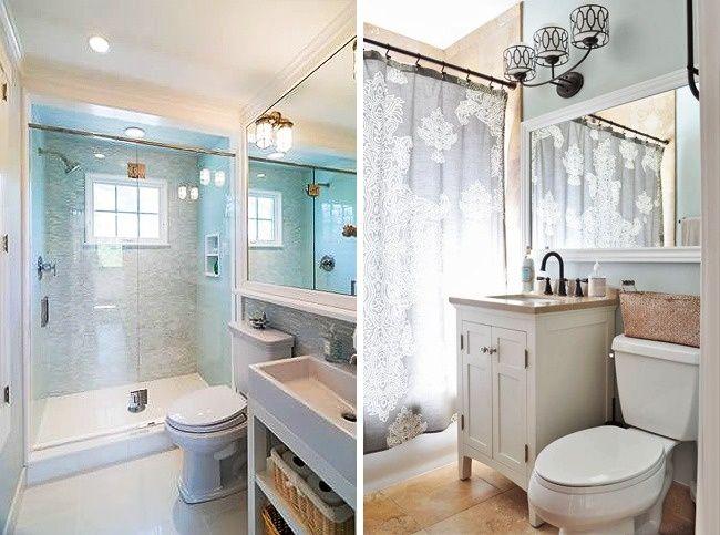 13 Soluciones de diseño para convertir un baño pequeño en uno