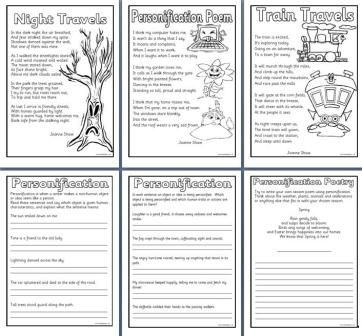 literacy resources writing posters many free printables for elementary and primary schools - Poem Essay Examples
