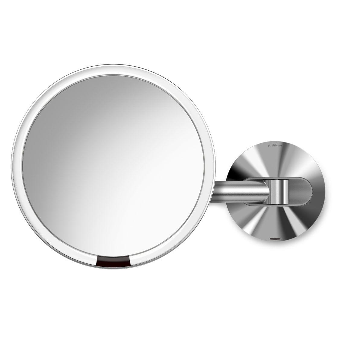 Simplehuman 8 Inch Wall Mount Sensor Mirror Polished