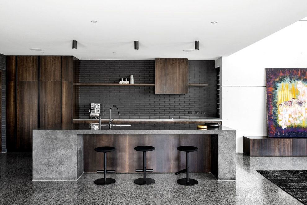 20 Spectacular Industrial Kitchen Designs That Will