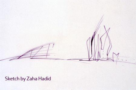 Zaha Hadid Sketch Zaha Hadid Zaha Zaha Hadid Architecture