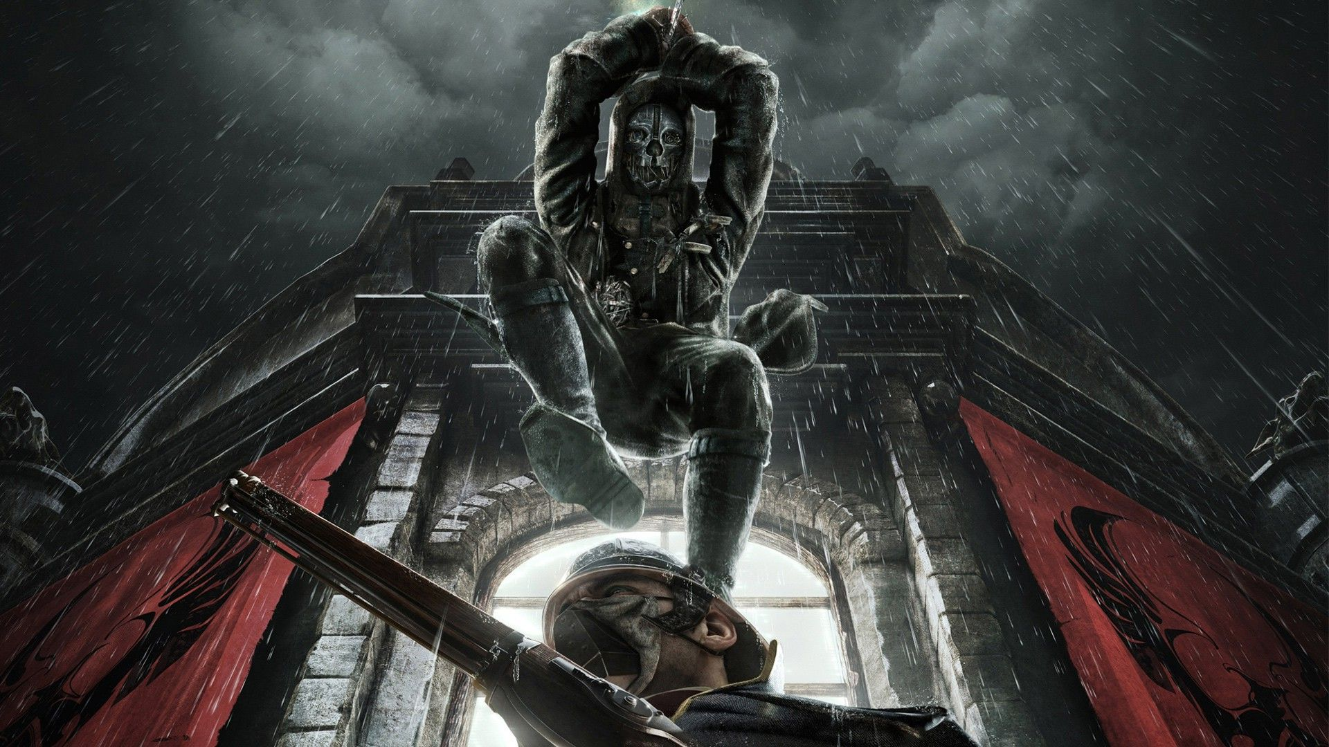 dishonored video games corvo attano wallpapers hd desktop and