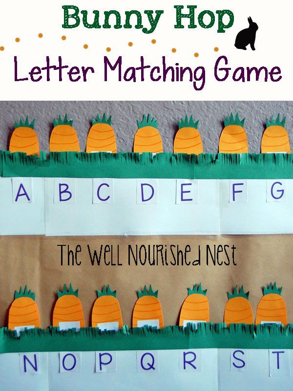 Abc Games  Bunny Hop Letter Recognition Game For Preschoolers And