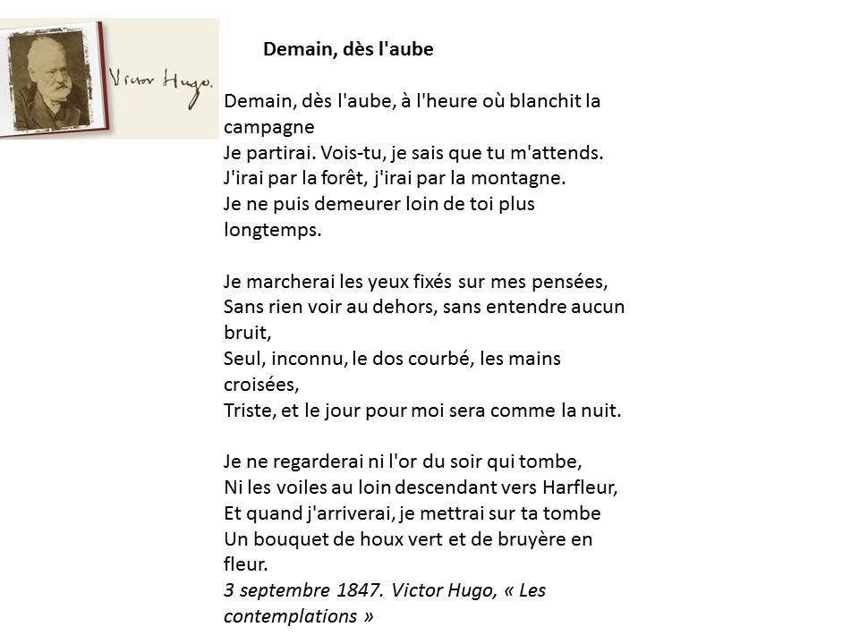 Connu poemes victor hugo contemplations - Recherche Google | beaux  YJ66
