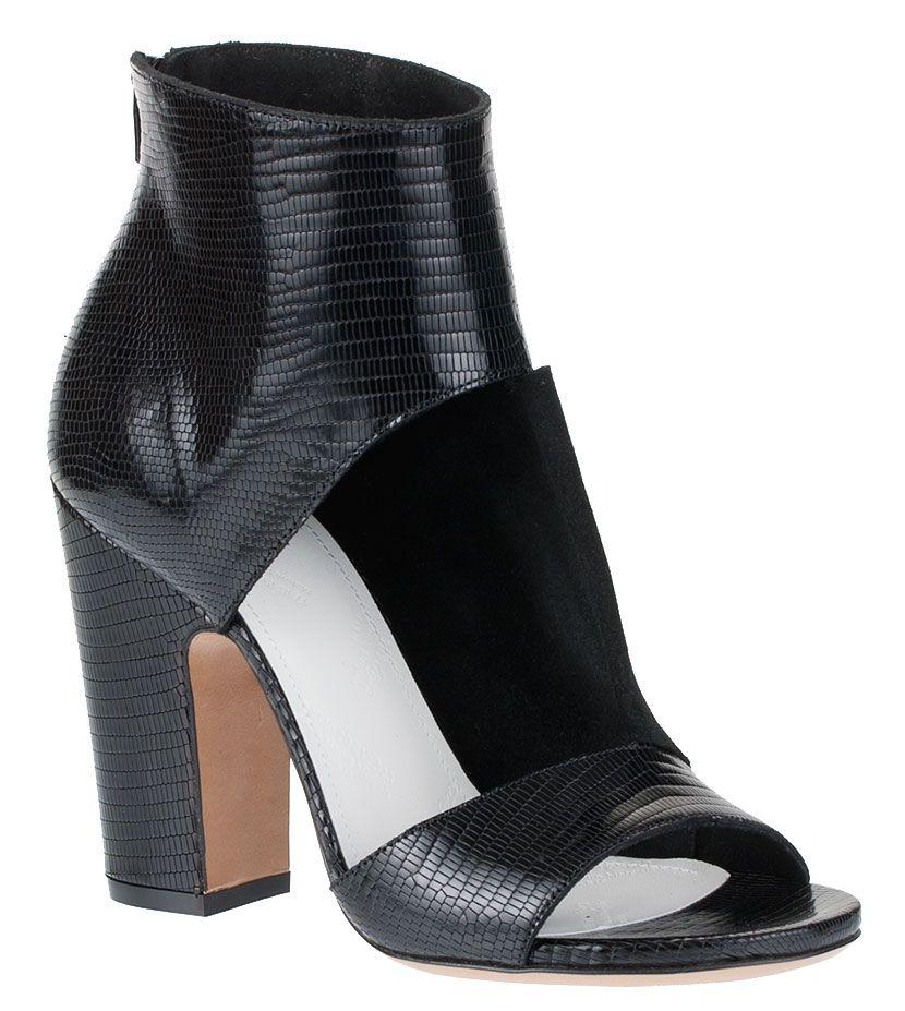 premium selection 6a77f 3661f Maison Martin Margiela Cutout Sandal Bootie
