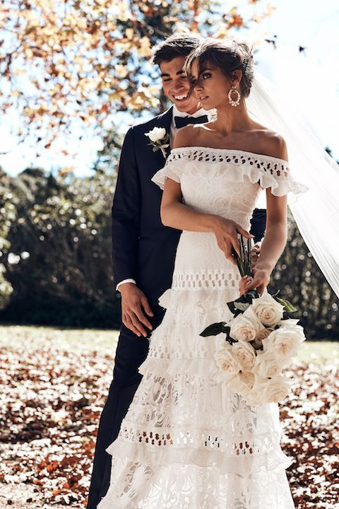 Grace Loves Lace 2018 ICON collection // Lace & Eyelet Wedding Dress Fashion & Wedding Dress Inspiration | The White Files