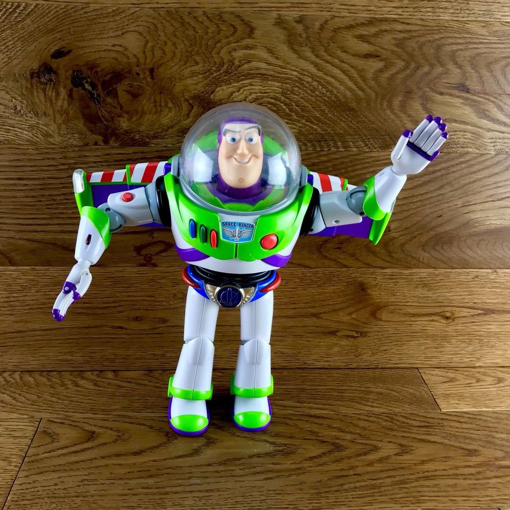 Buzz Lightyear Thinkway Toys Figure Chrome Utility Belt