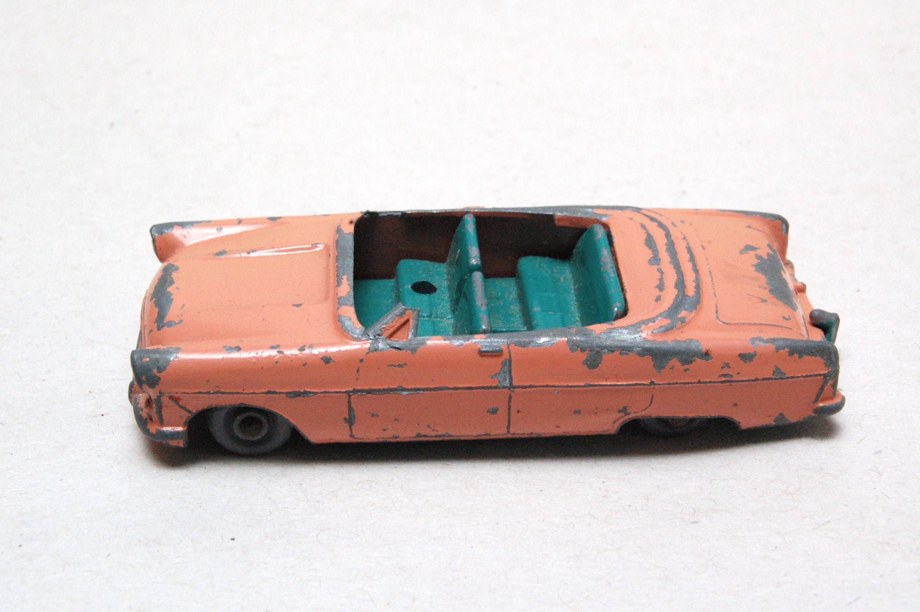 Matchbox Lesney No 39 Ford Zodiac Convertible Broken 1950 S Made In England Vintage Die Cast Metal Toy Car By Rememberwhen Toy Car Metal Toys Matchbox Cars