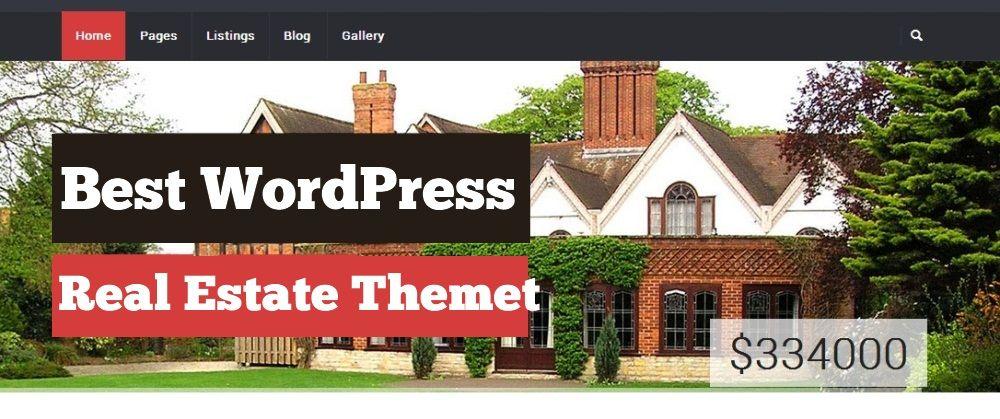 935+ Wordpress Real Estate Themes
