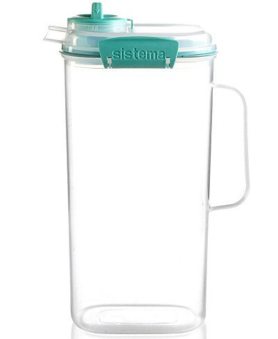 Martha Stewart Collection Juice Jug Storage Container Only at