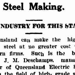 03 Mar 1941 - Steel Making. - Trove