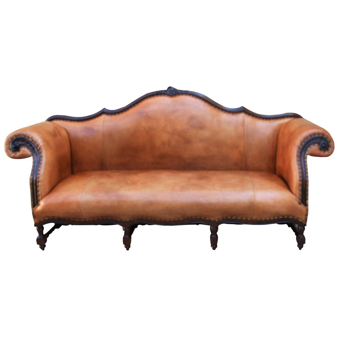 Ralph Lauren Leather Upholstered Sofa From A Unique Collection Of Antique And Modern Sofas At Https Www 1stdibs Furniture Seating