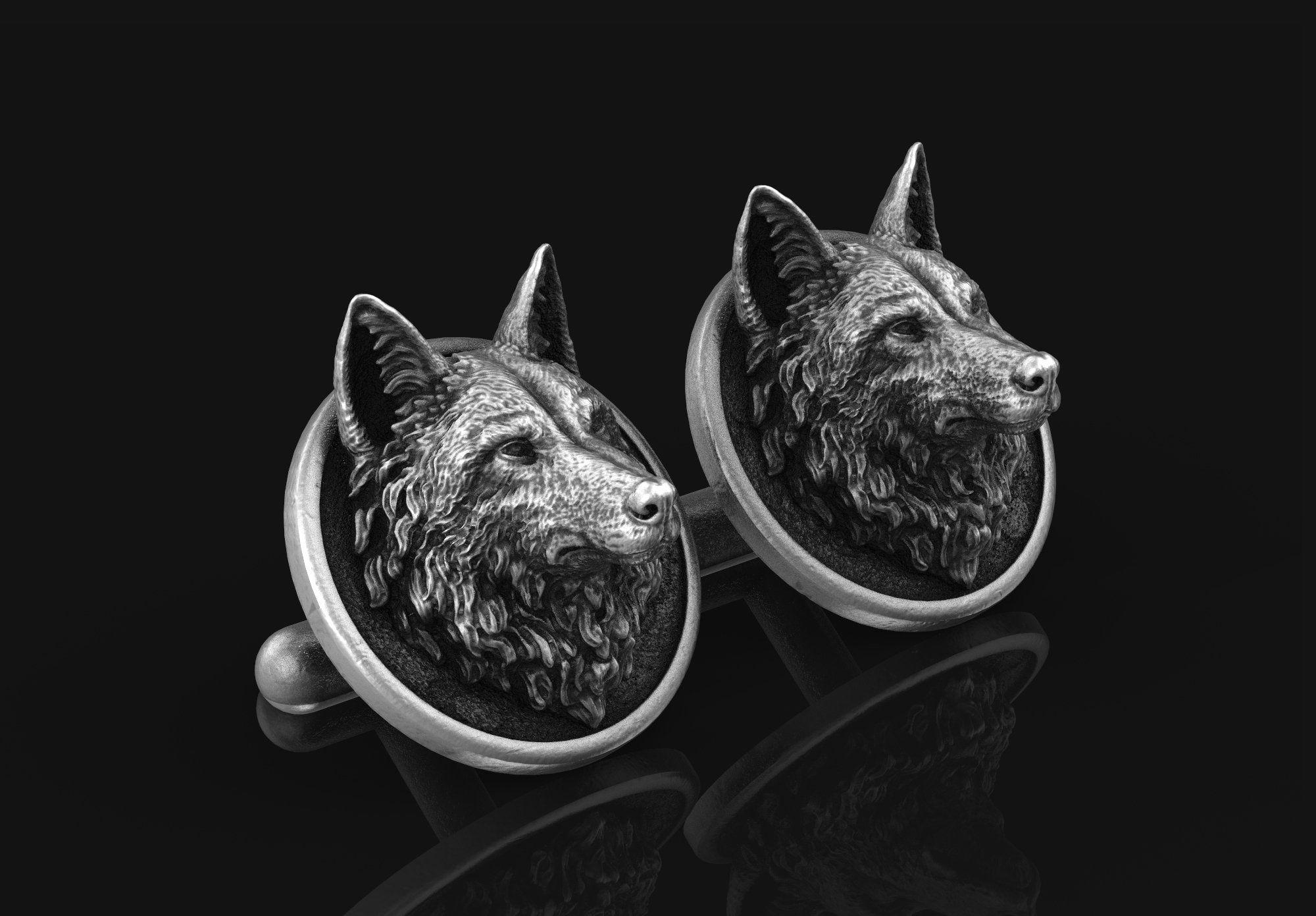 Noir Wolf Deluxe Totem