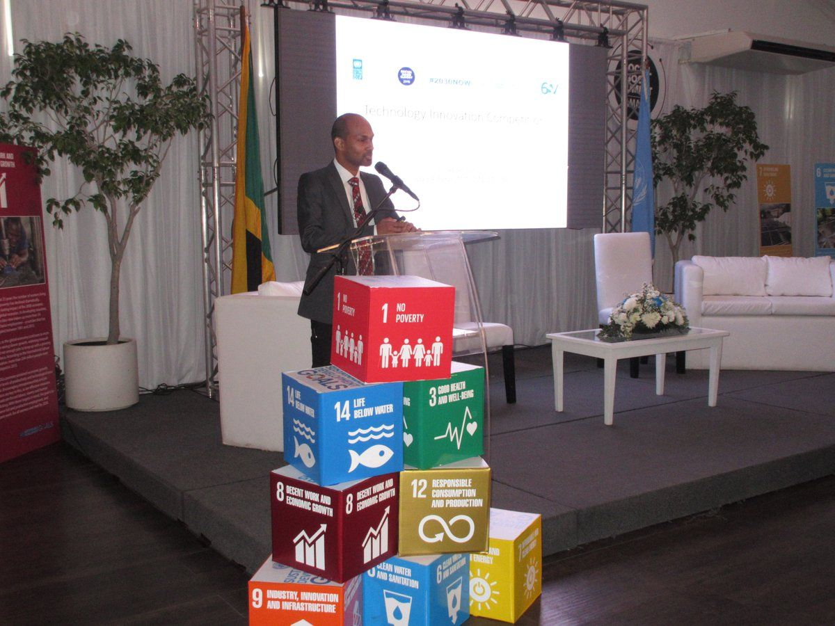 UNDP Jamaica (@UNDPJamaica) | Launched Technology Innovation Competition #GlobalGoals #2030Now