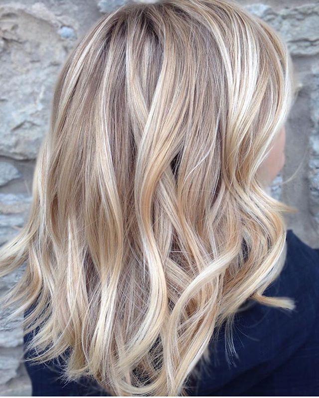 Haare frisuren blonde halblange Halblange frisuren