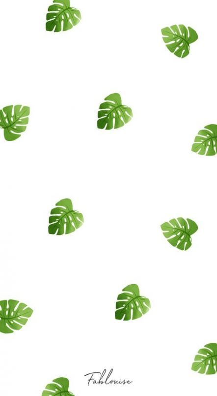 24 Trendy Plants Illustration Pattern Green