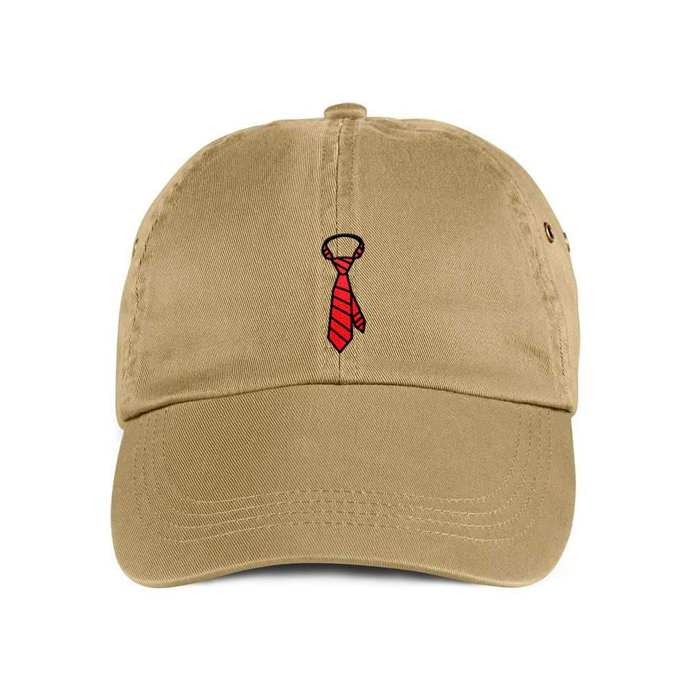 39bf27b2904 Red Neck Tie Dad Hat Baseball Cap. Khaki. Are you a hard worker who likes  to suit up for the office  Dress down and be a boss with this sleek hat.