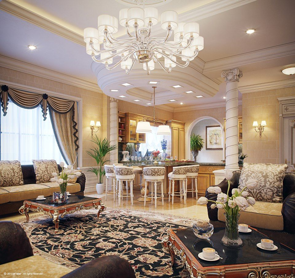 Luxury Villa in Qatar Visualized Luxury Villa