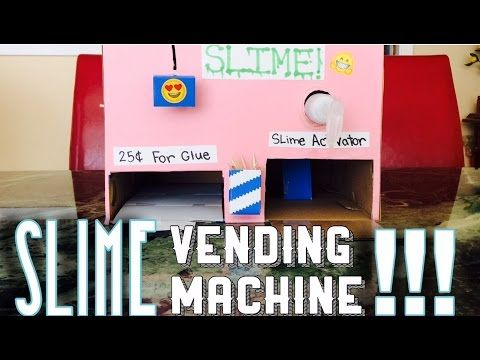 What Tbis Is Freaking Awesome A Slime Vending Machine I M Totally