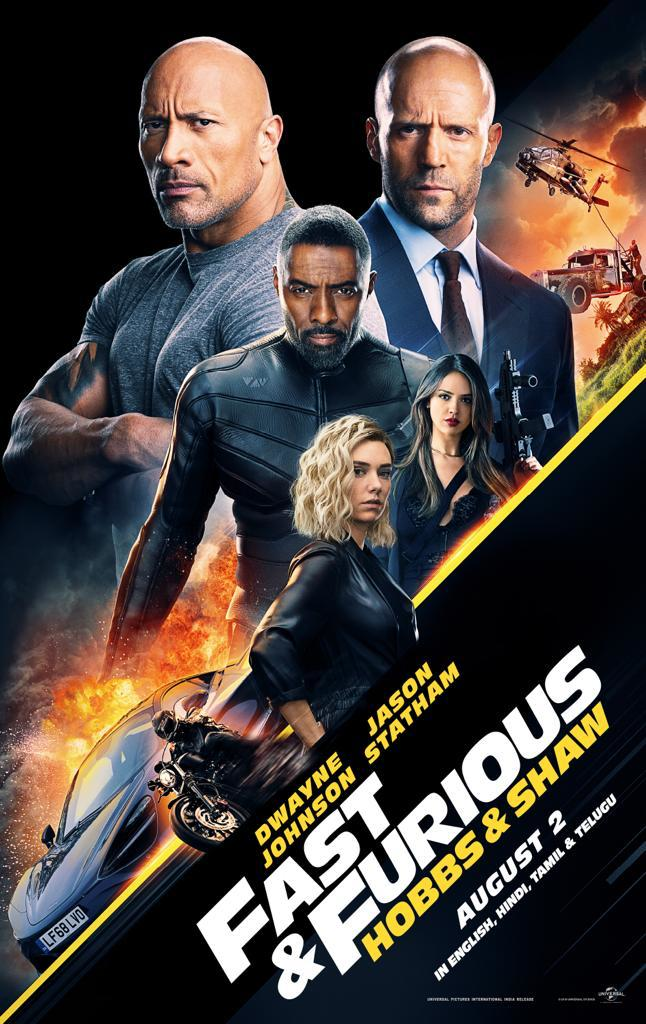 Fast And Furious Presents Hobbs And Shaw Release Date Poster Social News Xyz Fast And Furious Full Movies Online Free Free Movies Online