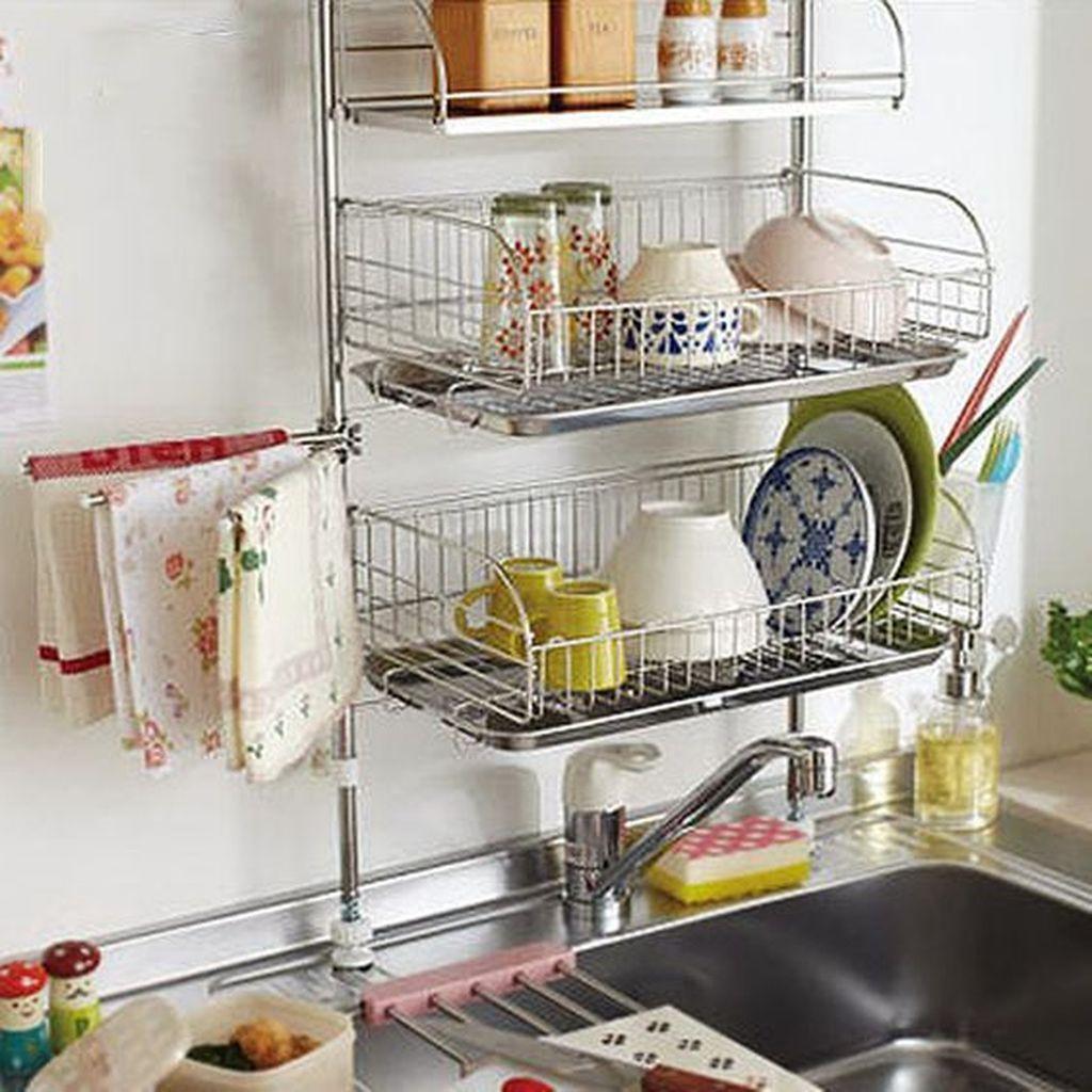 30 Awesome Small Kitchen Storage Ideas In 2020 Kitchen Design