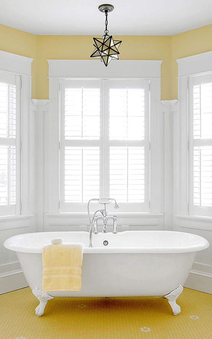 yellow bathroom #5 | home decor ideas | pinterest | yellow