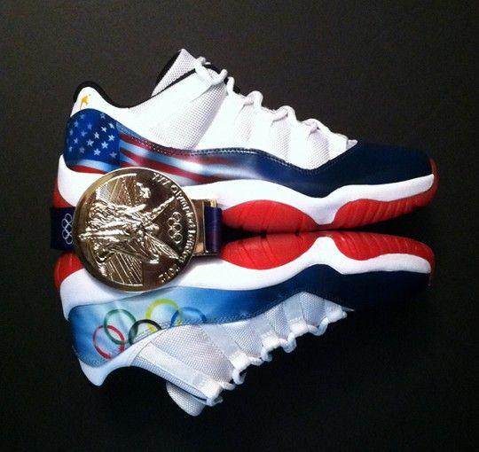 24f706011d11 air jordan 11 low olympic rings custom 2 540x510