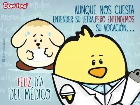 feliz día médico