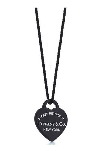 7447cac315fa0 Return to Tiffany black heart <3 | My Style in 2019 | Tiffany silver ...