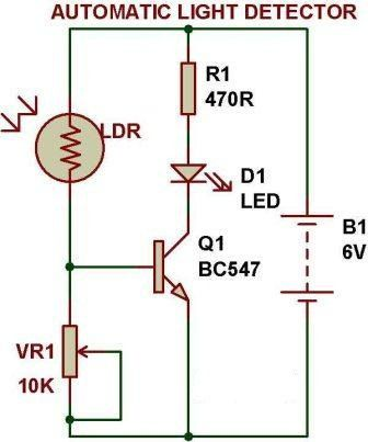 Circuit Diagram Light Sensor Wiring Diagram