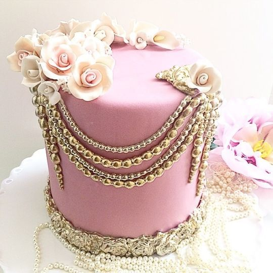 This Pretty Cake Could Be Used For Many Different Celebrations