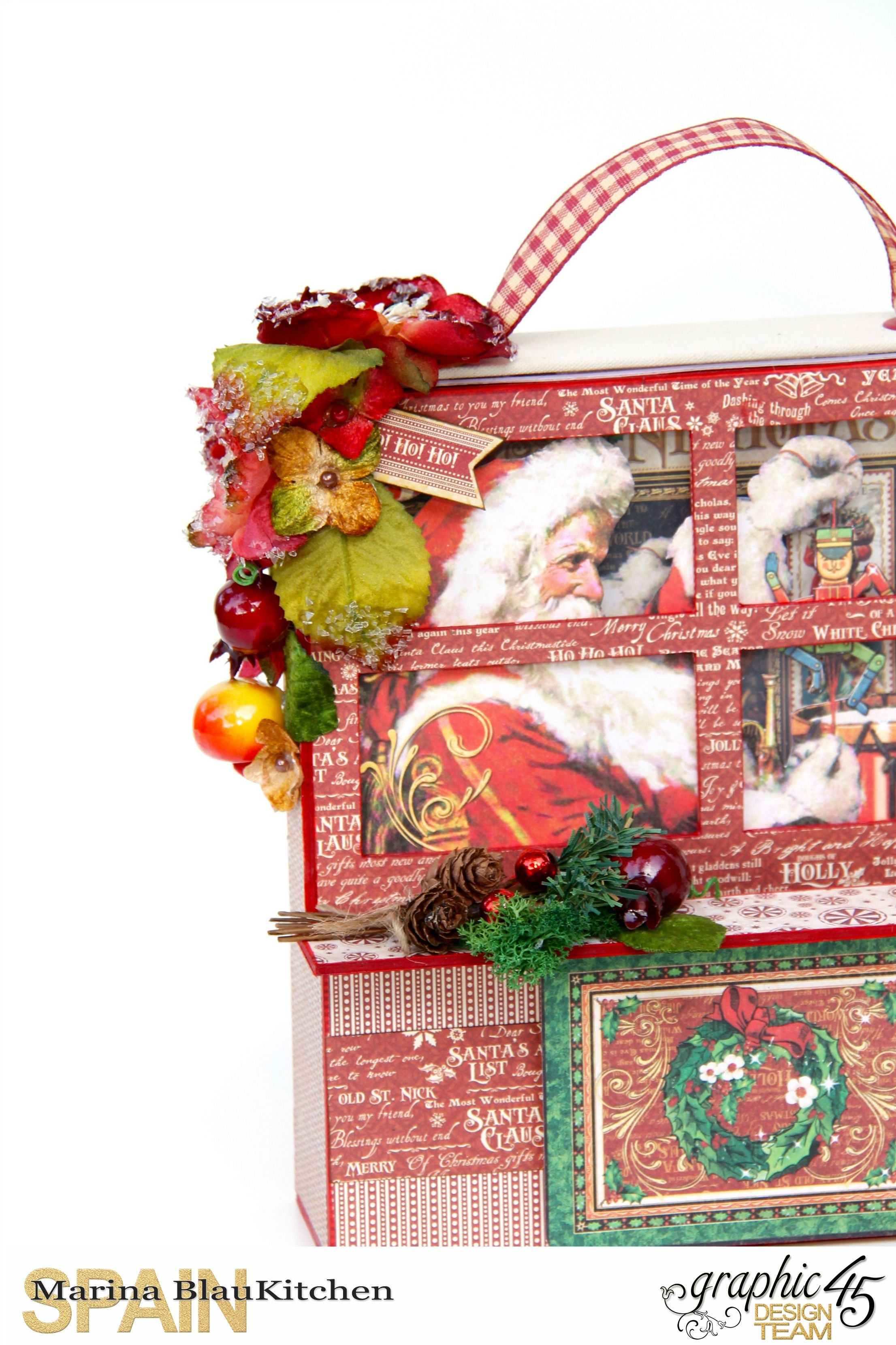 How to Create a Christmas Card Holder by Marina BlauKitchen