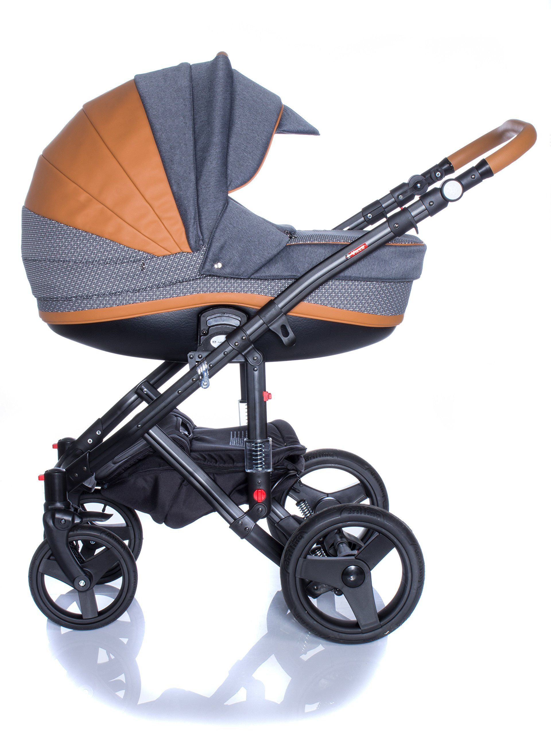 Buggy Joie Leicht Baby Pram Pushchair Stroller Buggy Travel System Set Adamex