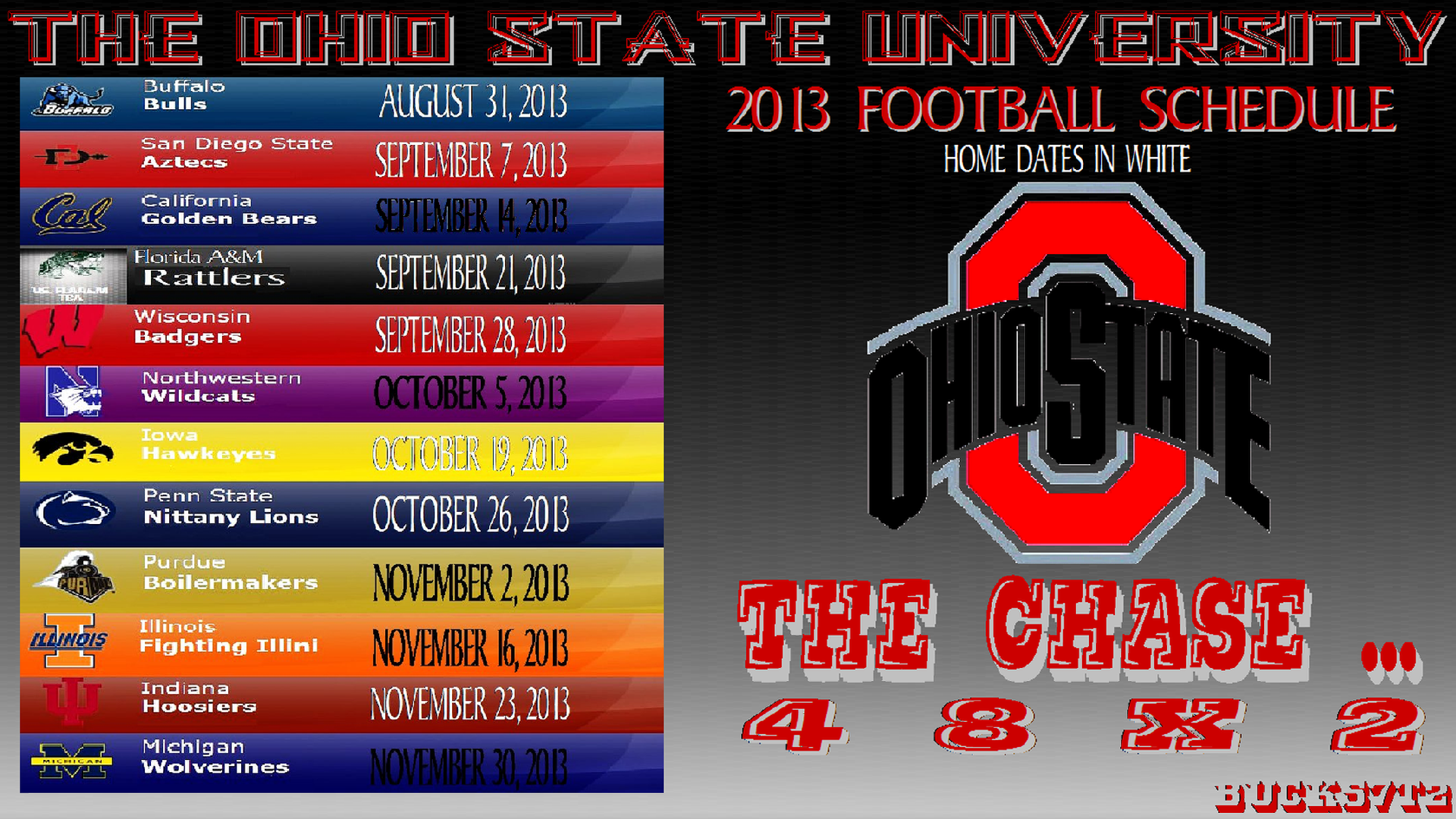 Ohio State Football Schedule Latest News Images And Photos CrypticImages