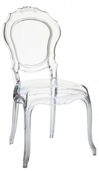 bellepoque ghost chair decor bar chairs